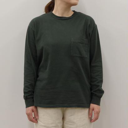THE HINOKI / 「THE  」バンドTシャツ / col.グリーン &ブラック/ Lady's