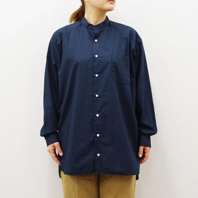 SETTO / STUDY ROOM SHIRT BAND COLLOR / Lady's