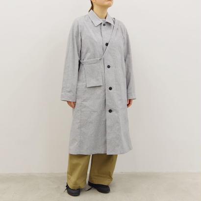THE HINOKI / コットン馬布バルマカーンコート / col.グレー / size 1 / Lady's