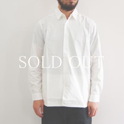 THE HINOKI / 高密度コットンブロードシャツ / col.ホワイト