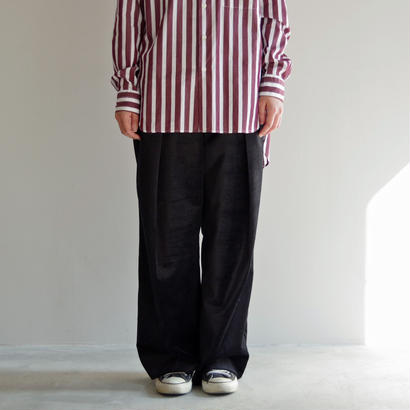 KICS DOCUMENT(KHONOROGICA) / VELVET DOUBLE TUCK WIDE PT