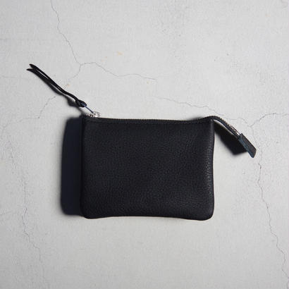 ERA. / BUBBLE CALF UTILITY WALLET MEDIUM / col.ブラック