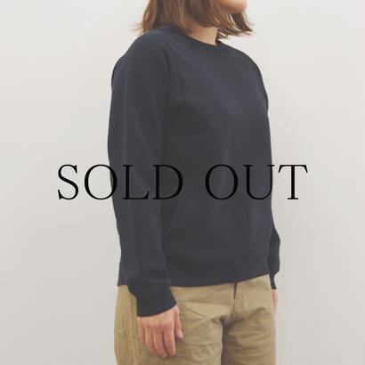 THE HINOKI / オーガニックコットン裏起毛スウェットシャツ / Lady's