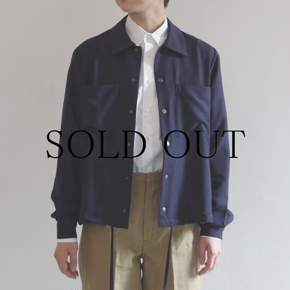 PULETTE / Snap Button Shirt / NAVY