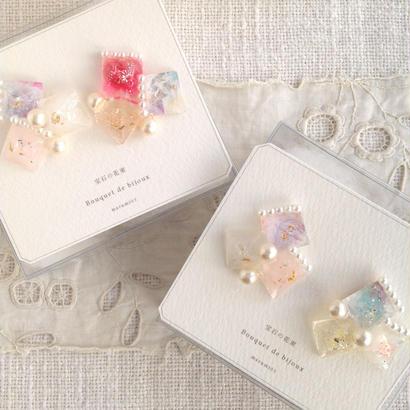 marumi03 | 宝石の花束・ピアス
