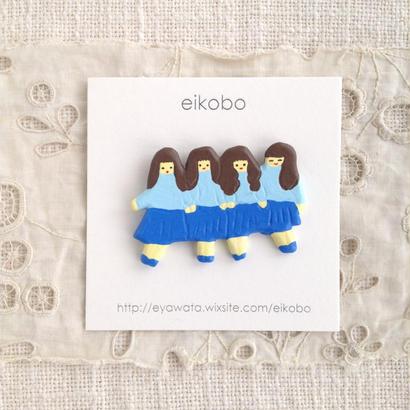 eikobo  |  4ガールズブローチ