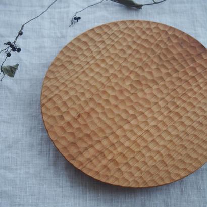 高塚和則さんのパン皿 はちのす(中)