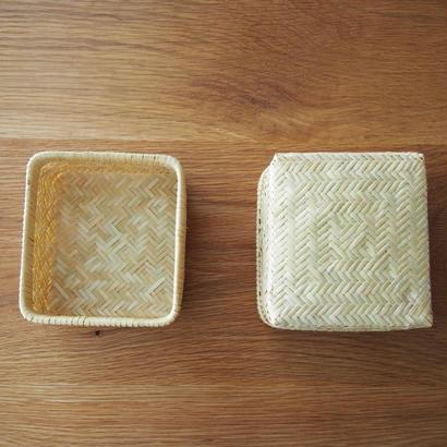 すず竹 弁当箱 四角