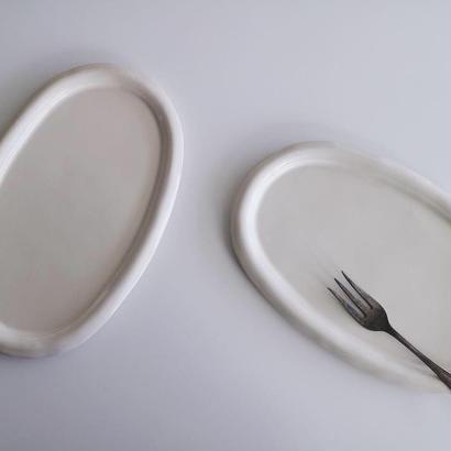 河合竜彦  オーバルプレート皿