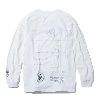 CULTCLUB  STUDIO LONG SLEEVE THIRT (WHITE)【CC18SS-019】
