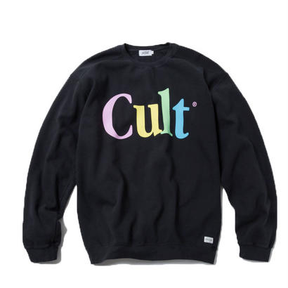 CULT CREWNECK (BLACK)【CC18SS-013】