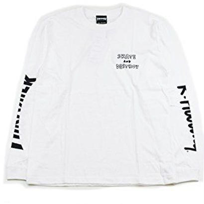 Keith Haring × THRASHER 35th Long Sleeve T-shirt White【KH-034】