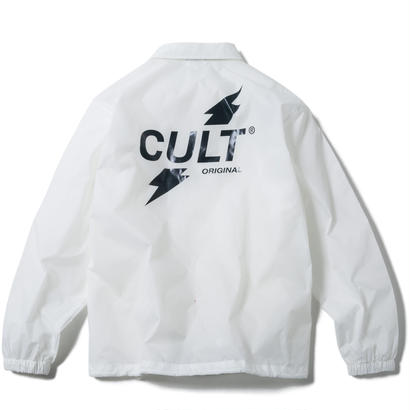CRUSH COACH JACKET (WHITE) 【CC17AW-019】