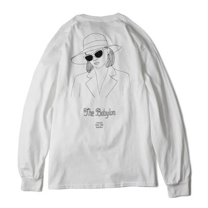 OWN SUPPLY L/S TEE (WHITE) :  STIKSTOK  × MAGIC STICK【16AW-CULT-002】