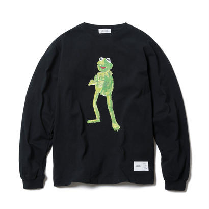 FROG LONG SLEEVE TEE : YUNG LENOX(BLACK)【CC17AW-015】