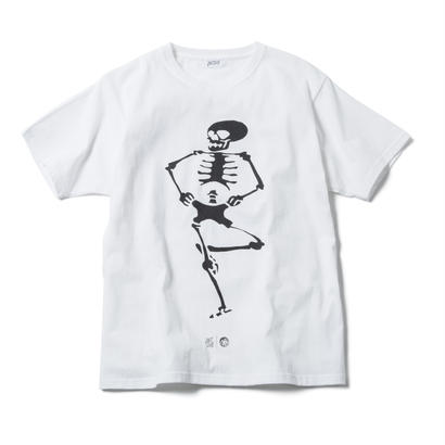 DANCE OF DEATH TEE (WHITE) : ARTWORK by JEROEN【CC17SS-005】