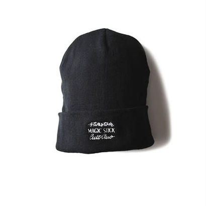 EL PARAISO CLASSIC BEANIE (BLACK) :  STIKSTOK  × MAGIC STICK【16AW-CULT-005】