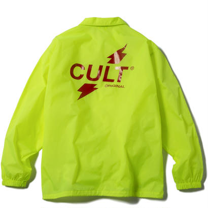 CRUSH COACH JACKET (YELLOW) 【CC17AW-019】
