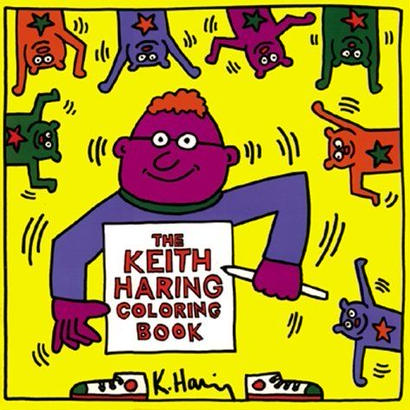 Keith Haring Coloring Book【KH-025】