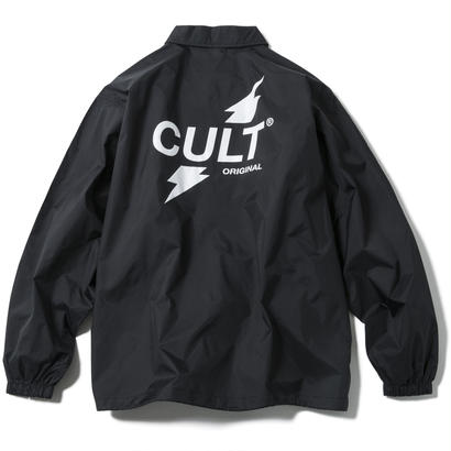CRUSH COACH JACKET (BLACK) 【CC17AW-019】