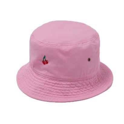 CHERRY BOY BUCKET HAT  (PINK)【CC18SS-033】