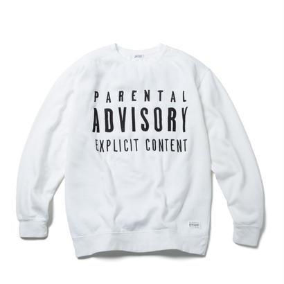ADVISORY CREWNECK (WHITE)【CC18SS-007】