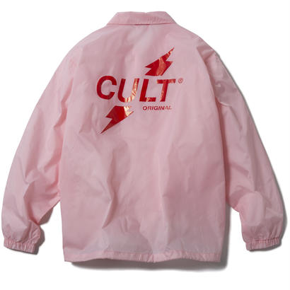 CRUSH COACH JACKET (PINK) 【CC17AW-019】