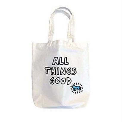 Kieth Haring Tote Bag : ALL THINGS GOOD【KH-028】