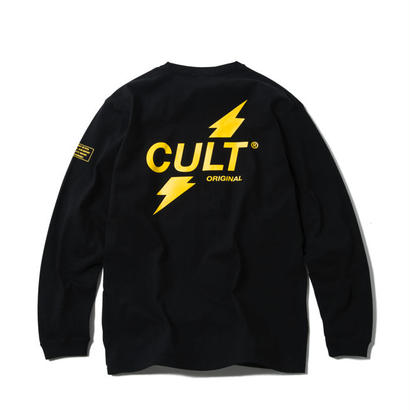 CRUSH LONG SLEEVE TEE (BLACK) 【CC17AW-003】