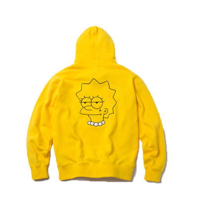 FIRST TATTOO HOODIE (YELLOW) :  GANGSTER DOODLES【CC18SS-003】