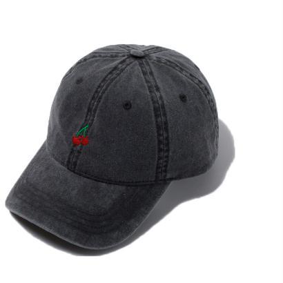 CHERRY BOY CAP (BLACK)【CC18SS-024】