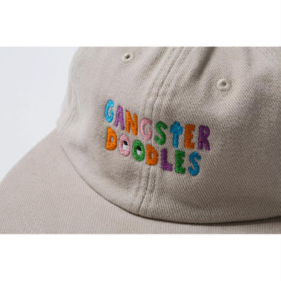 GANGSTER DOODLES CAP by GANGSTER DOODLES (KHAKI)【CC17AW-020】