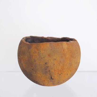 sabi bowl L / 赤錆
