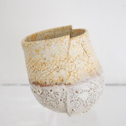 白化粧掛分鉢 - 大貫弘由岐
