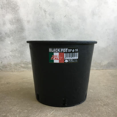 black  pot (made in italy ) φBP16