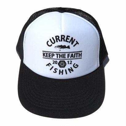 KEEP THE FAITH MESHCAP【BLACK×WHITE】