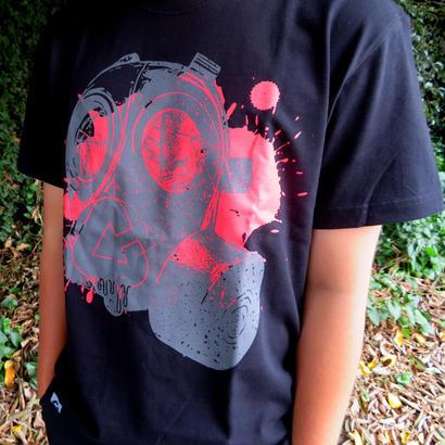 GASMASK T-Shirt【BLACK】