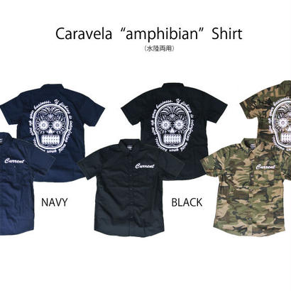 "Caravela ""amphibian(水陸両用)"" Shirt"