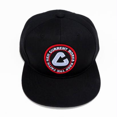 NEW CURRENT WORKS NEWLOGO  CAP/BLACK