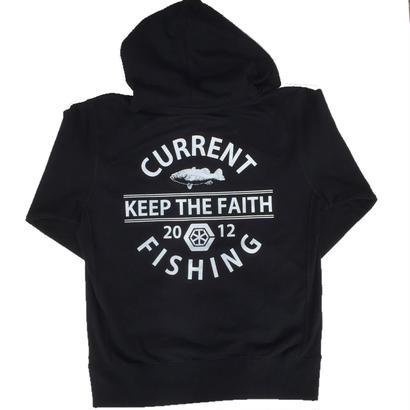 KEEP THE FAITH ZIPUP HOODIE