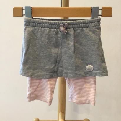 新生児-349 スカート付きスパッツ