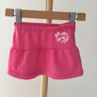 90cm-136 トレーナー生地スカート