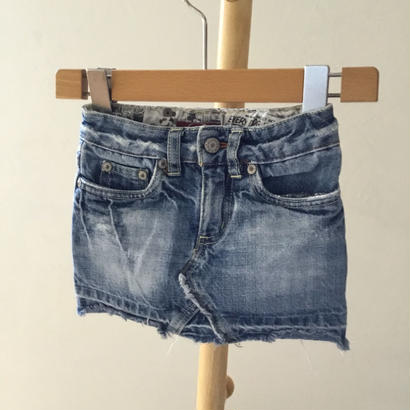 90cm-370 デニム ショートスカート