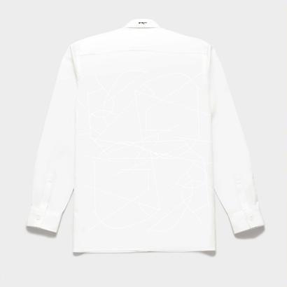 Shirts by Standピンオックスフォード シャツ(White) 00056