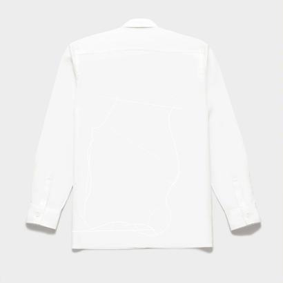 Shirts by Standピンオックスフォード シャツ(White) 00018