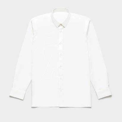 Shirts by Standピンオックスフォード シャツ(White) 00046