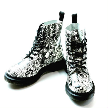 Dr.martens X Mark wigan コラボブーツ