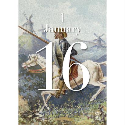 DAYS Book 365 / 1月16日