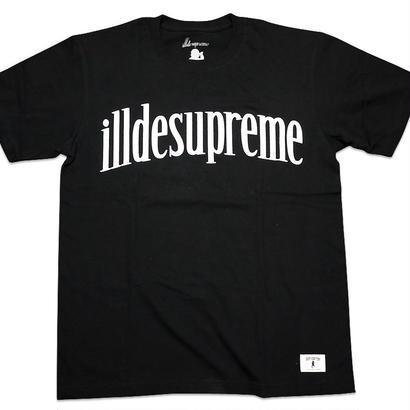 illdesupreme LOGO-T BLACK