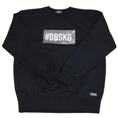 DBSKG BOX-LOGO LIGHT CREW SWEAT BLACK